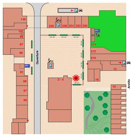 plattegrond AH
