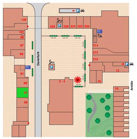 plattegrond InShape