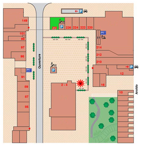 plattegrond Primera