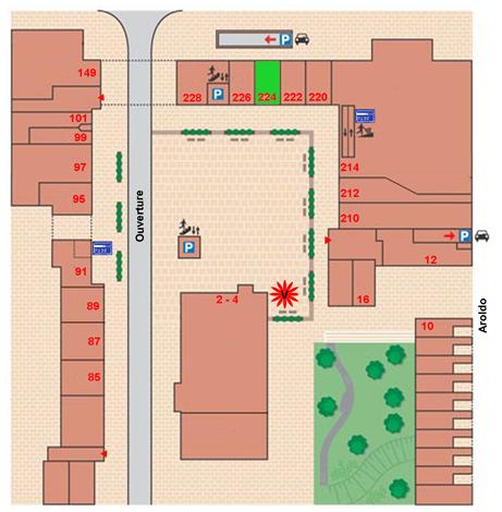 plattegrond palazzio