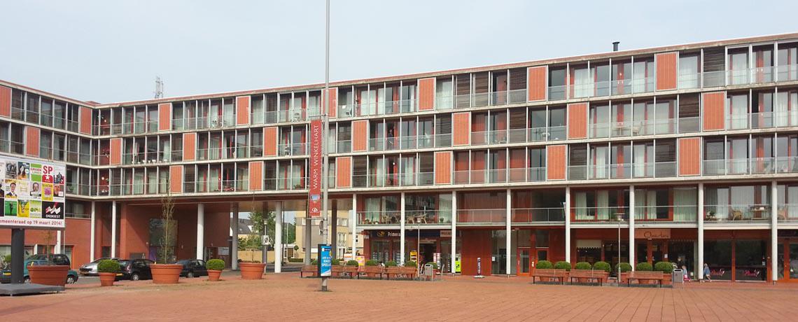 Winkelen in de mooie wijk Blixembosch
